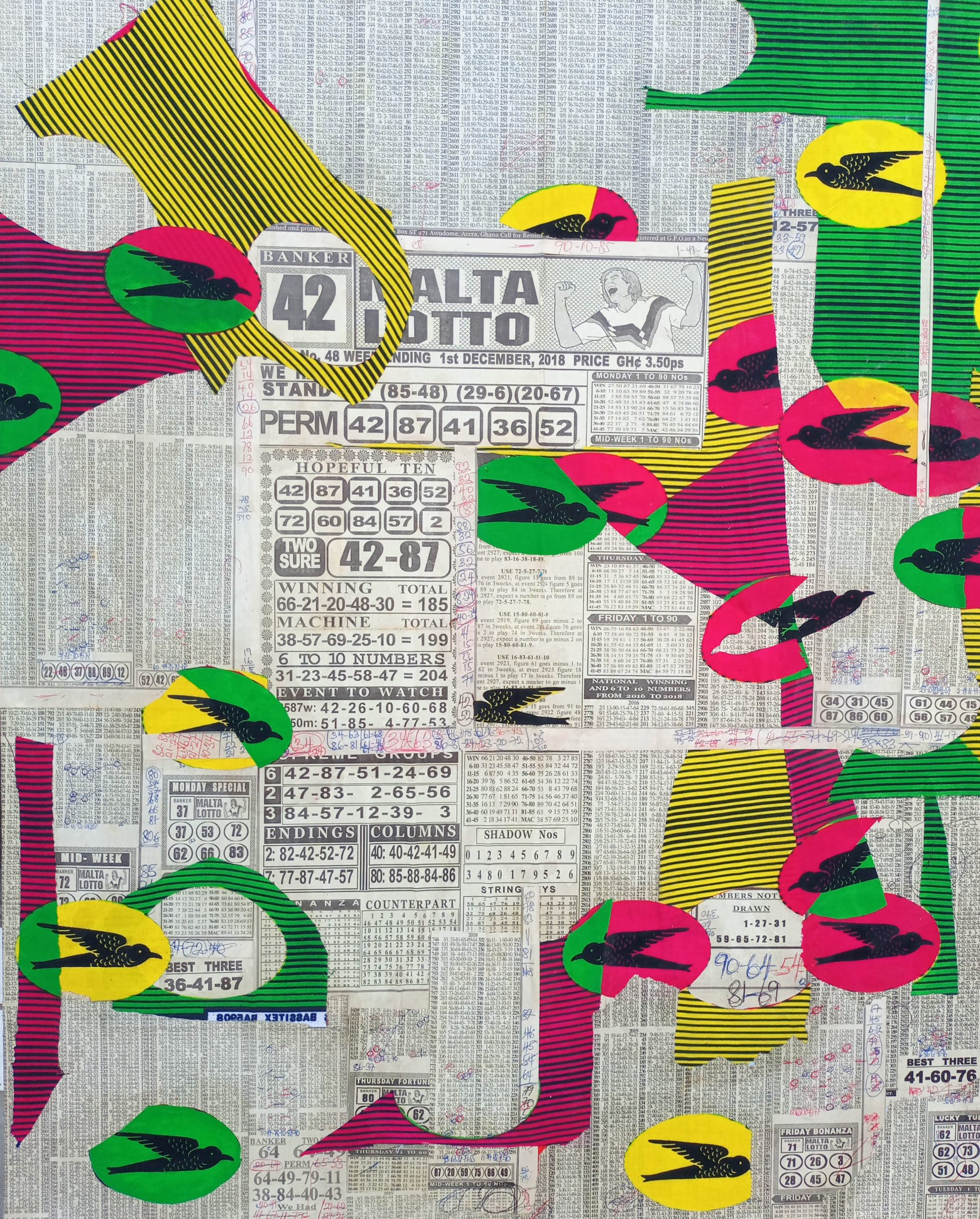 Sika Wo Ntaban (42 Banker), 20th Aug 2020, 28inches x 35inches