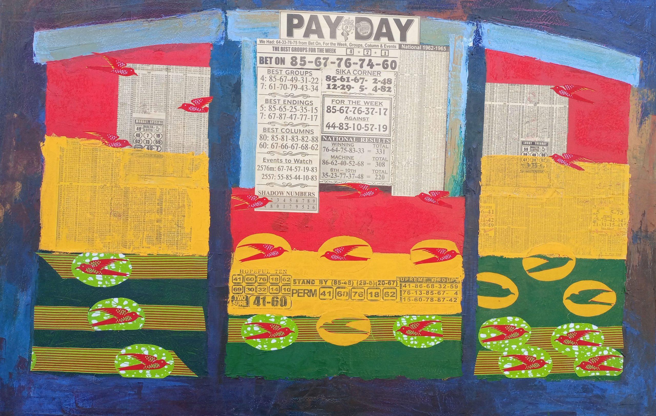Pay Day, Dec 2018, 36inches x 55inches