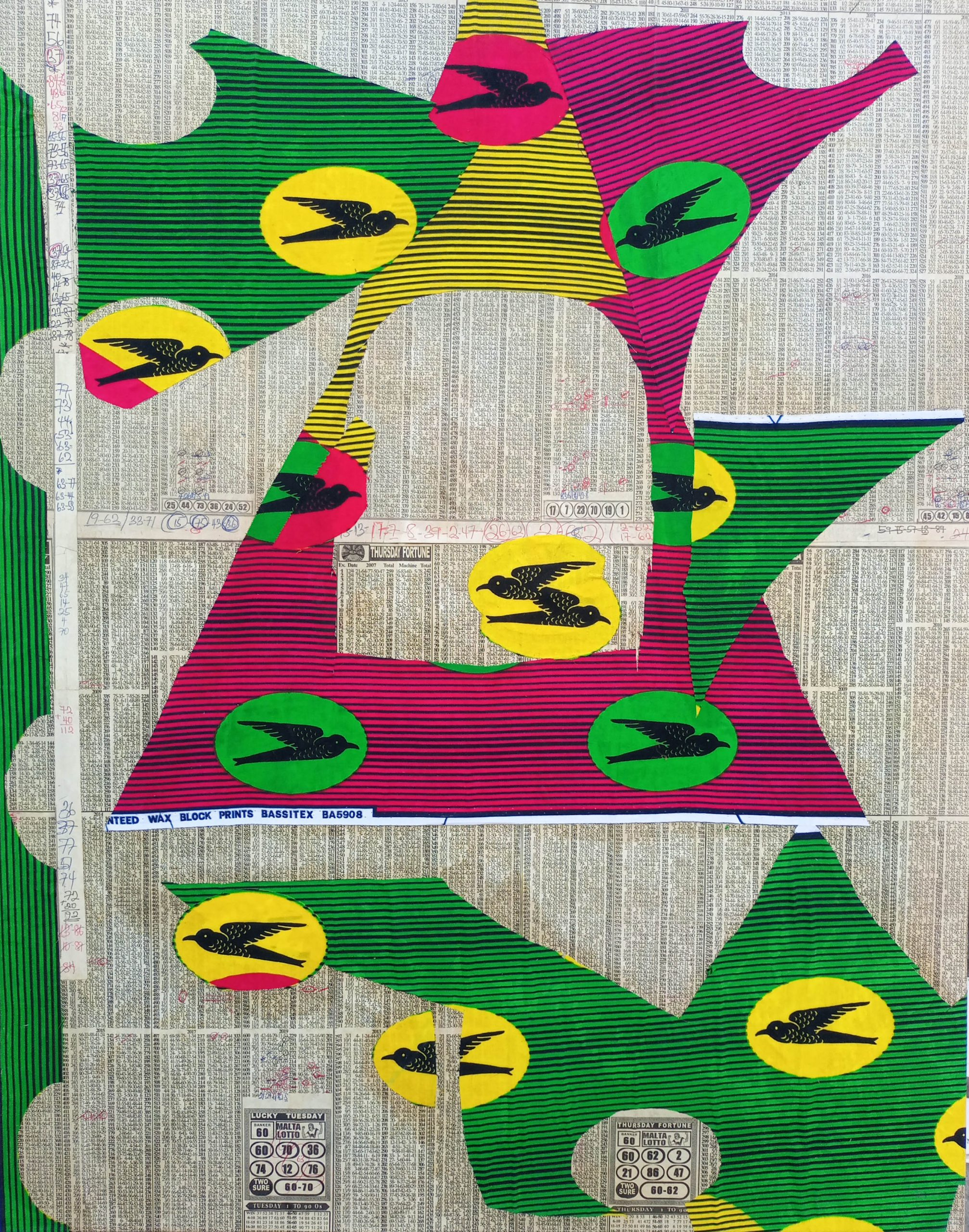 Sika Wo Ntaban, 20th Aug 2020, 28inches x 35inches