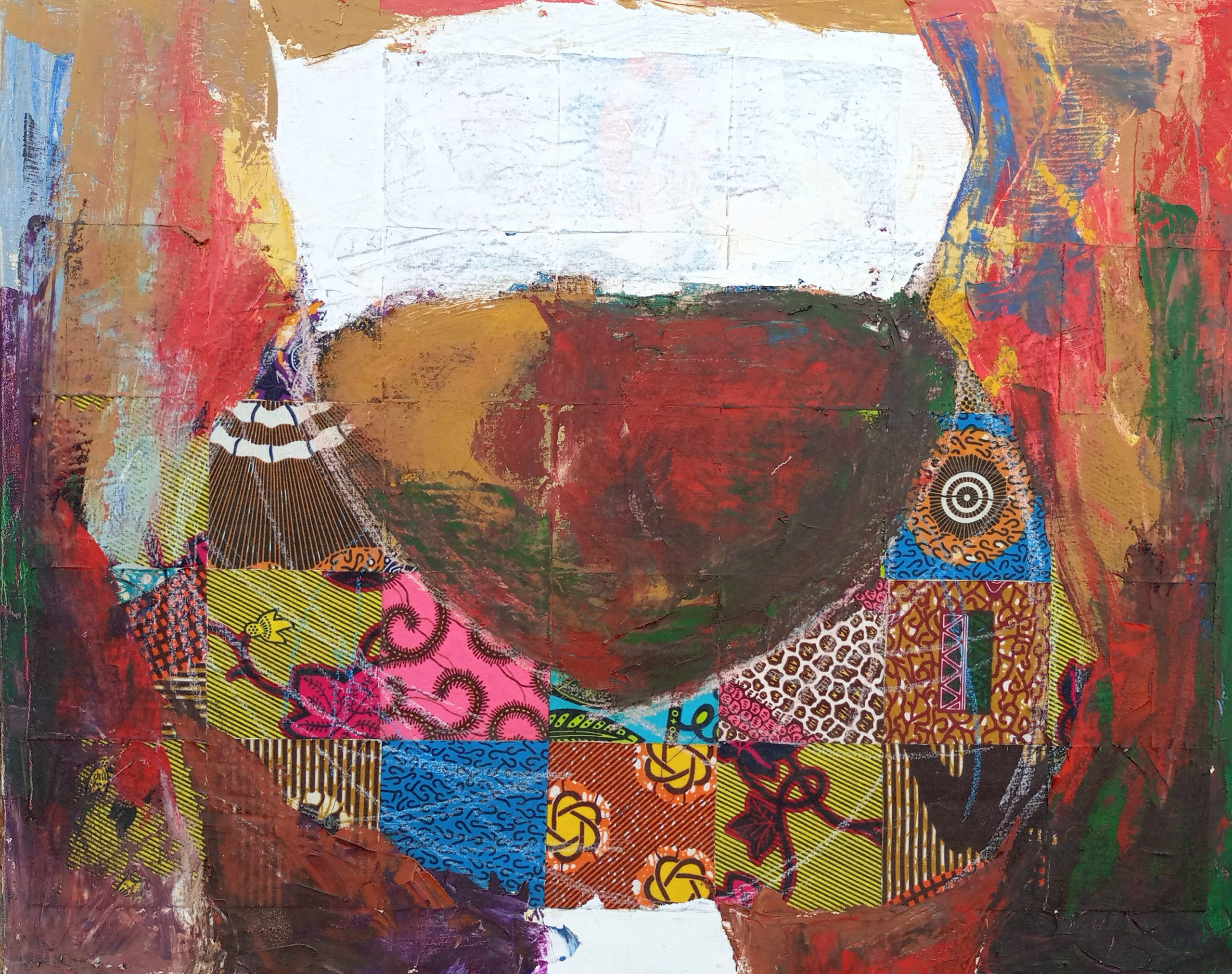 Dipo Girl, April 2021, 30inches x 24inches